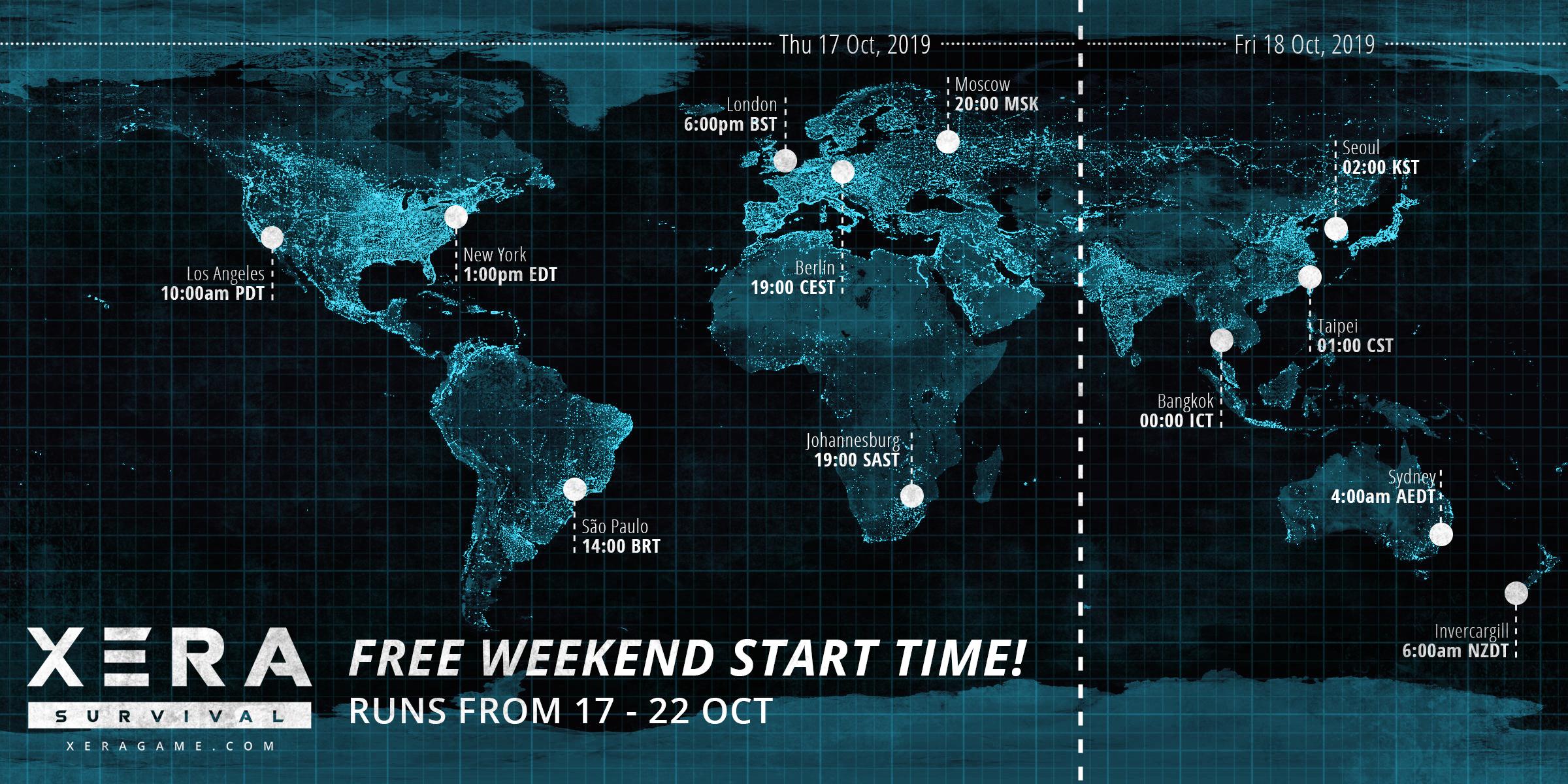 Free Weekend - XERA: Survival | Open World Multiplayer